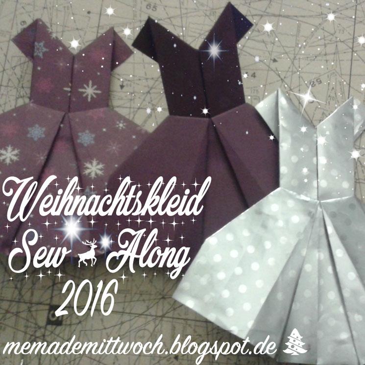 Weihnachtskleid Sew Along